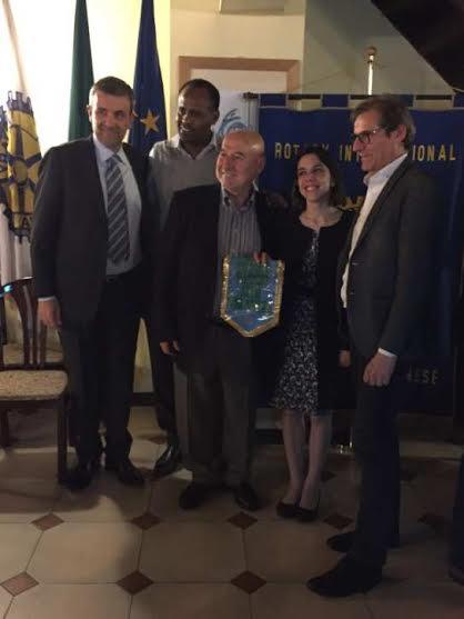 Da sinistra, Nicola Giuliano (RC), Zelalem Worku (CVM), Vito Garofalo (RC), Valentina Palumbo ( CVM), Gigi Barni (RC).