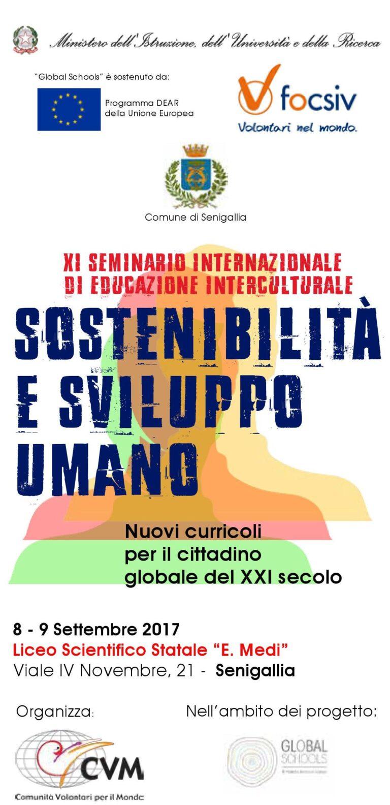 Il programma dell'XI Seminario internazionale di educazione interculturale